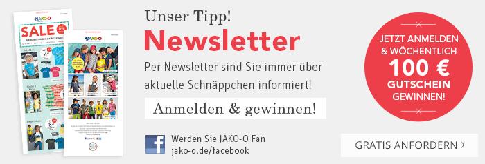 Unser Tipp! Per Newsletter sind Sie immer über aktuelle Schnäppchen informiert!