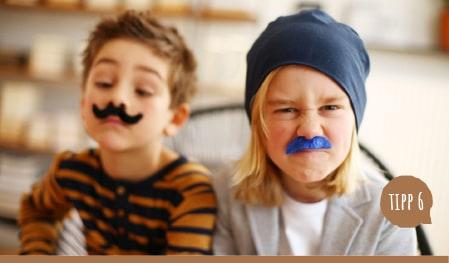 6. Wie behält mein Kind die Mütze auf?