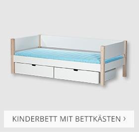 Kinderbett mit Bettkästen