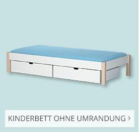 Kinderbett ohne Umrandung