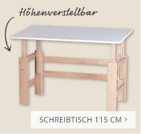 Schreibtisch 115cm