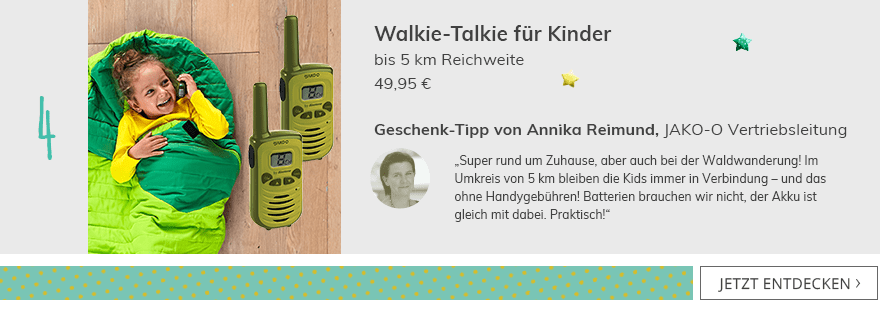 Walkie-Talkie für Kinder