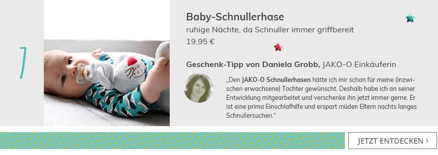 Baby-Schnullerhase