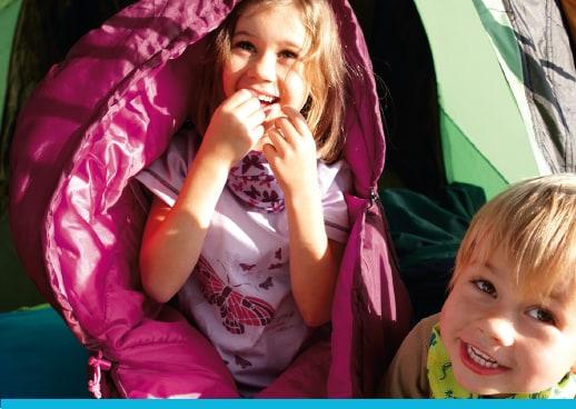 Campingurlaub nicht nur für Frischluft-Fans