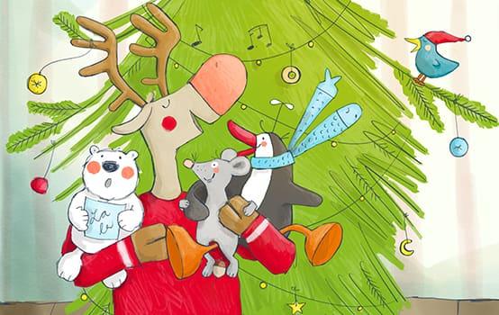 Wir singen Weihnachtslieder!