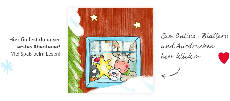 Die JAKO-O Weihnachtsfreunde ... im Bastelfieber
