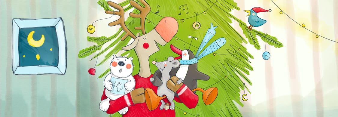 die weihnachtsfreunde singen weihnachtslieder jako o. Black Bedroom Furniture Sets. Home Design Ideas