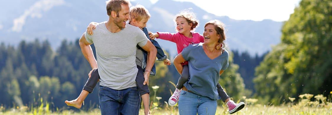 Hallo Frühling, hallo Sommer … Jetzt ist die beste Familien-Draußen-Zeit!