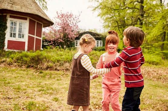 Outdoorspiele für Kinder
