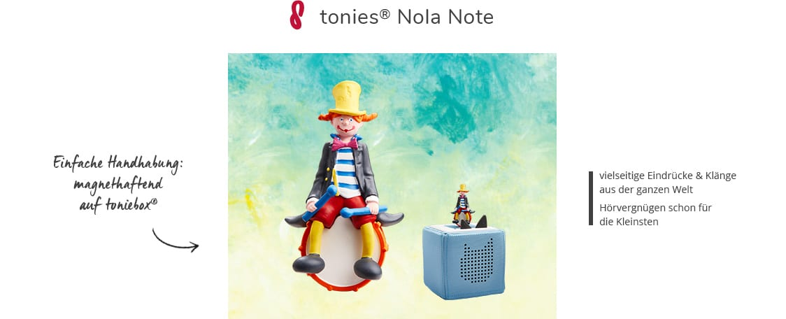 tonies® Nola Note
