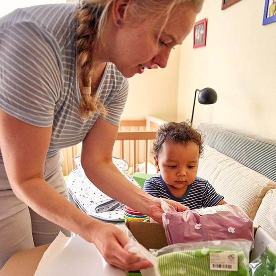 Silja und ihr Baby