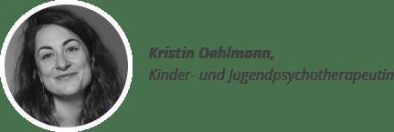 Kristin Oehlmann, Kinder- und Jugendpsychotherapeutin