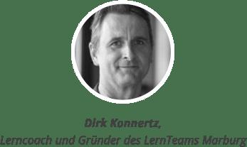 Dirk Konnertz, Lerncoach und Gründer des LernTeams Marburg