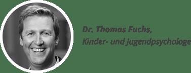Dr. Thomas Fuchs, Kinder- und Jugendpsychologe