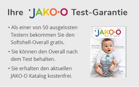 Ihre JAKO-O Test-Garantie