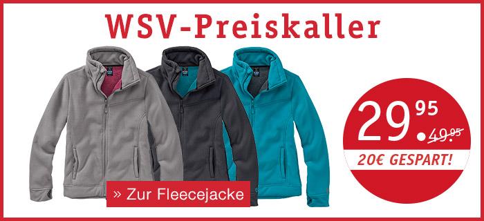 WSV-Preisknaller - Zur Fleecejacke