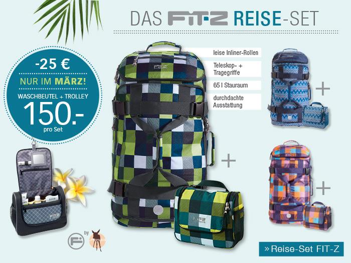 DAS FIT-Z REISE-SET - Reise-Set FIT-Z