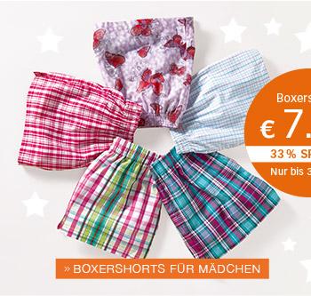 Boxershorts - BOXERSHORTS FÜR MÄDCHEN