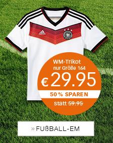 WM-Trikot - FUSSBALL-EM