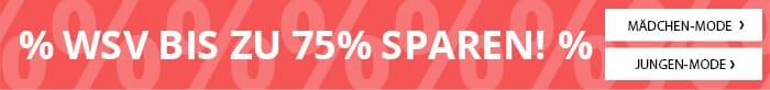 WSV bis zu 75% sparen!