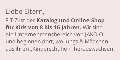 Katalog und Online-Shop für Kids von 8 bis 16 Jahren