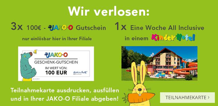 Wir verlosen: 3x 100€-Gutscheine und 1x 1 Woche All-Inclusive-Urlaub in einem Kinderhotel