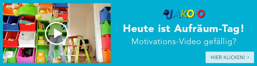 Heute ist Aufräum-Tag! Motivations-Video gefällig?