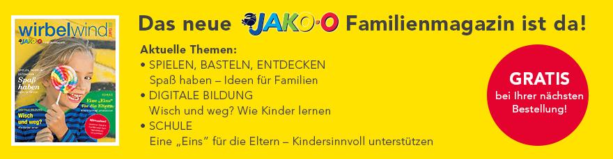 Das neue JAKO-O Familienmagazin ist da!