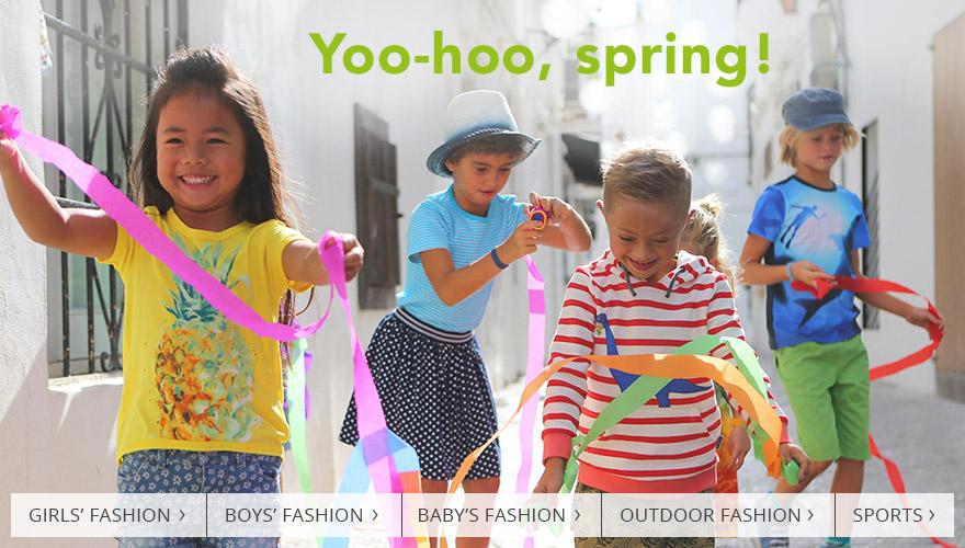 Yoo-hoo, spring!