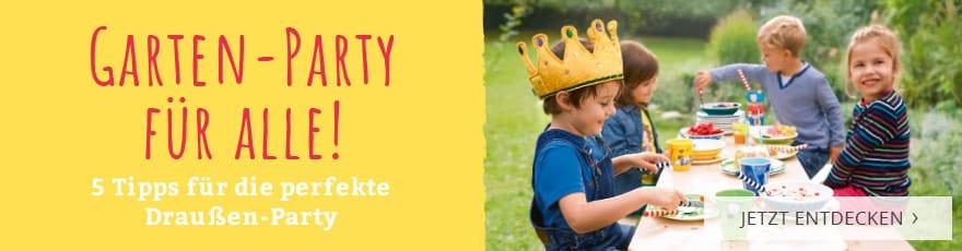 Garten-Party für alle! 5 Tipps für die perfekte Draußen-Party