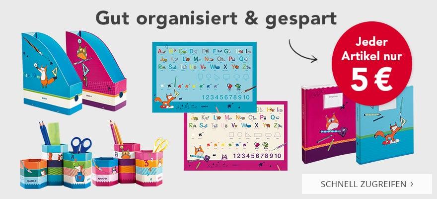 gut organisiert
