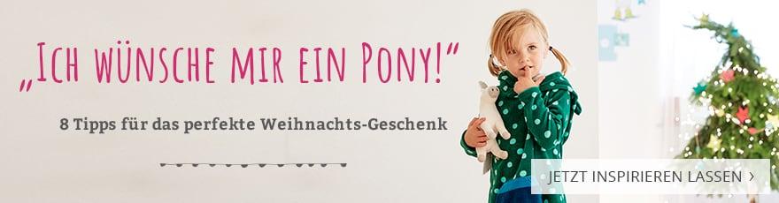 Ich wünsche mir ein Pony! 8 Tipps für das perfekte Weihnachts-Geschenk