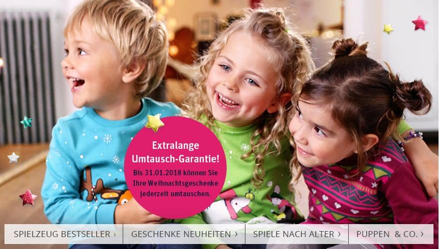 Extralange Umtausch-Garantie!