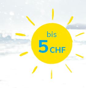 bis 5 CHF