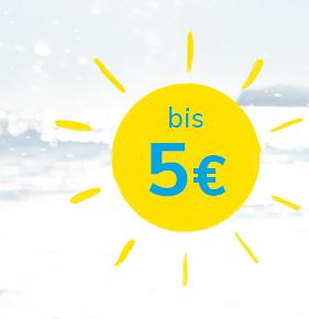 bis 5 €