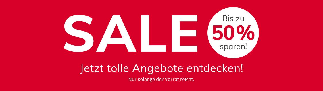 SALE - Bis zu 50% sparen!