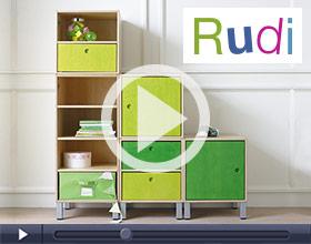 Regalwürfel Rudi
