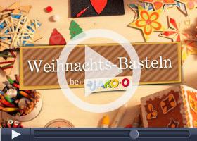 Weihnachtsbasteln mit JAKO-O