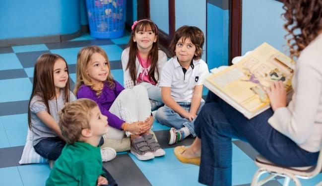 Englischunterricht im Kindergarten