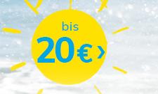 bis 20 €