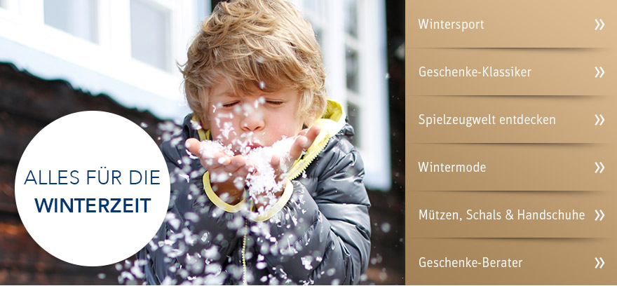 Alles für die Winterzeit