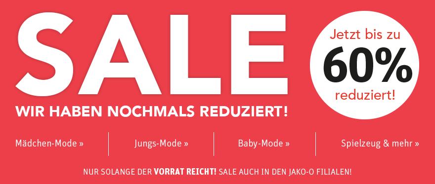 SALE – Bis zu 60% sparen! »