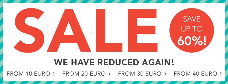 SALE – Save up to 60%!