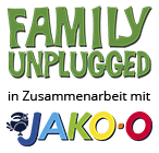 Family Unplugged in Zusammenarbeit mit JAKO-O