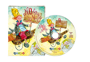 Kinder-CD Nola Note Weltreise JAKO-O, 1 CD + Booklet