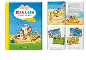 Jula & Ben erleben die Welt – Bagger Schaufi + Ball Ballo